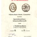 Wilhelm-Raabe-Schule Hannover 3. Platz beim Sportabzeichen Schulwettbewerb 2016