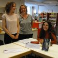 Die Wilhelm-Raabe-Schule bei der Frankfurter Buchmesse vertreten