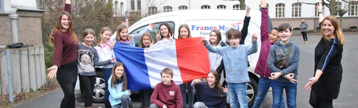 Das FranceMobil zu Gast an der Wilhelm-Raabe-Schule
