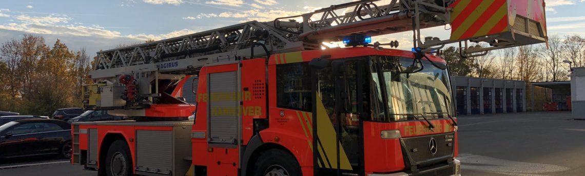 Schulsanitätsdienst besucht die Feuer- und Rettungswache 4 in Hannover